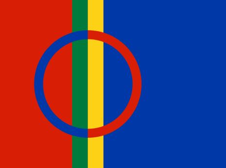 Same 16cm Bordsflagga