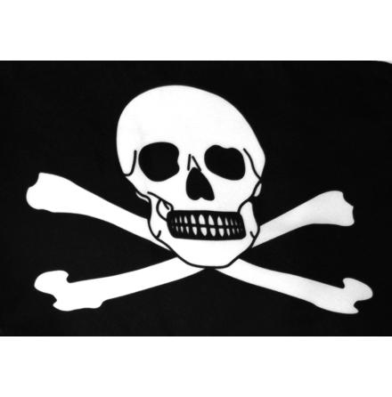Piratflagga 90x150 cm