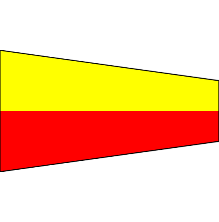 """Signalvimpel 75 cm """"7"""""""