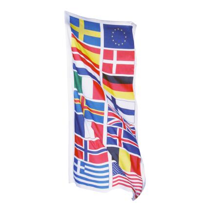 Turistflagga 300x120