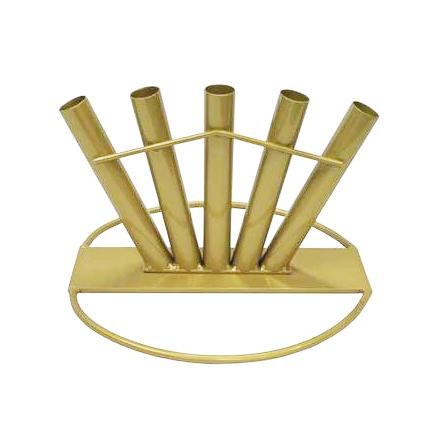 Fanställ guldlack 5 fanor 29mm