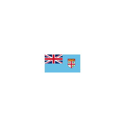 Fiji mv 16 cm Bordsflagga