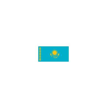 Kazachstan 16cm Bordsflagga