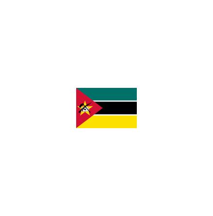 Mocambique 16 cm Bordsflagga