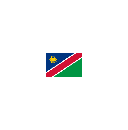 Namibia 24 cm Bordsflagga