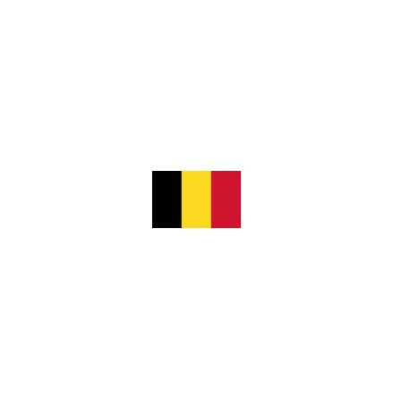 Belgien 8cm Bordsflagga