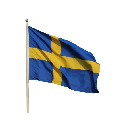 Sverige flagga (150 - 600 cm)