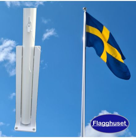 Flaggstång - U-balk (6-18m)